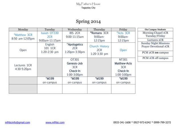 mfhbc-classes-spring-2014