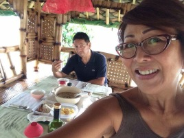 """First lunch at the """"kubo"""""""
