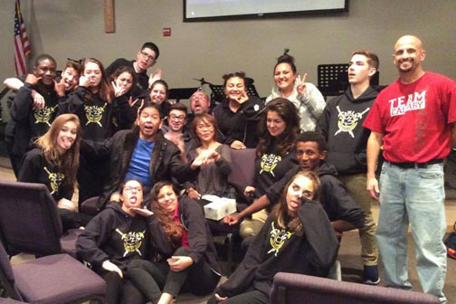 surprised Warriors of CC Lone Mountain, Go, Grow, and Glow in the Lord